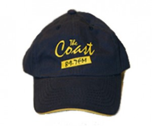 Blue and yellow baseball hat